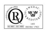 ISO Certifikat RZ HB Mekaniska AB