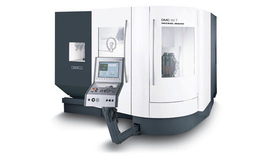 DMG DMC60T - 5 axlig maskin hos HB Mekaniska AB