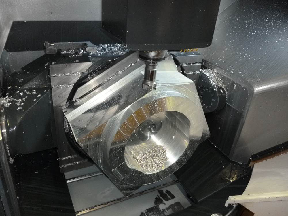 5 axlig CNC fräs HB Mekaniska AB